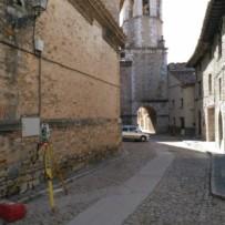 Levantamiento topográfico de Calle Calasanz de Cantavieja (Teruel)