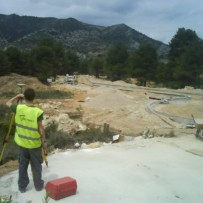 Urbanización de La Planeta en Beceite en provincia de Teruel