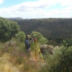Levantamiento topográfico de la explotación minera de diques de litio en La Fregeneda (Salamanca)