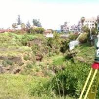 Levantamiento topográfico para Proyecto de Urbanización y Dirección de Obra en Puerto de la Cruz (Tenerife)