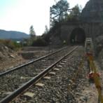 Trabajos de topografía en Línea férrea Barcelona-Caspe-Zaragoza