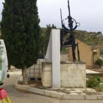 Levantamiento topográfico Cementerio de Escatrón (Zaragoza)