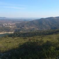 Trabajos de topografía en Presa Entrepeñas en Guadalajara
