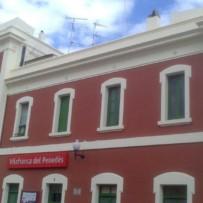 Levantamiento topográfico Estación de Cercanías de VILLAFRANCA DEL PENEDES