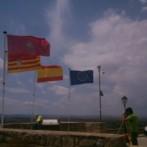 Levantamiento topográfico de muralla del Parador de Alcañiz (Teruel)